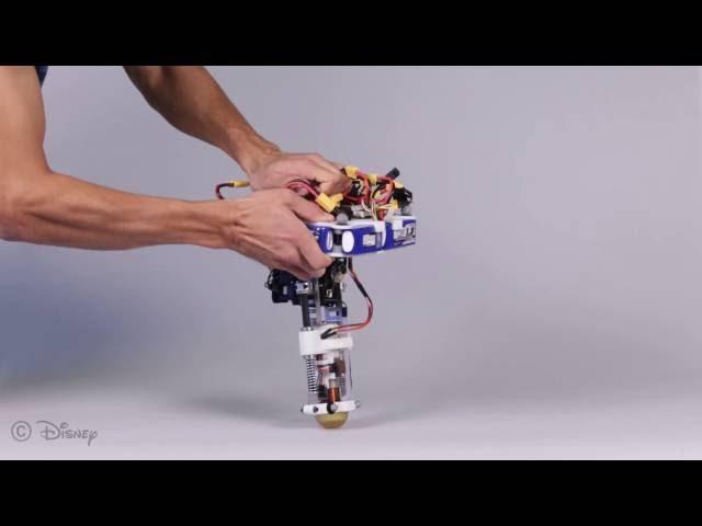 Специалисты Disney создали прыгающего робота