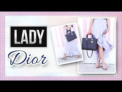 LADY DIOR LARGE HANDBAG REVIEW: WHAT FITS INSIDE & MORE!