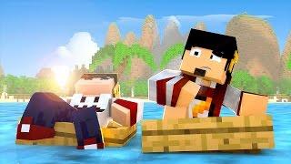 Minecraft: ILHA GIGANTE - HEROBRINE Ep. 1 ‹ AMENIC ›