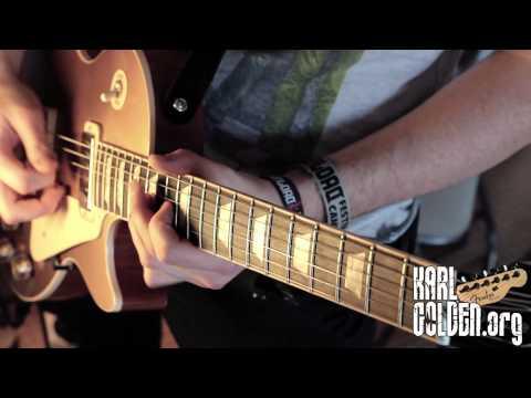 You're a Lie - Cover - SLASH - Instrumental - GuitarsSoloBassDrums (Karl Golden)