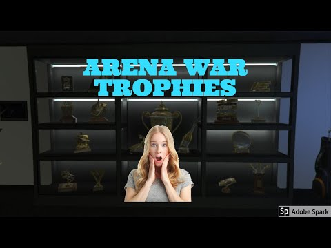 How to get the Arena War Trophies, Trinkets, Stickers, Photographs, and Medical Bill   GTA 5