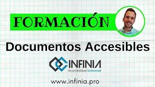 Formación documentos accesibles y Lectura Fácil