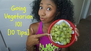Going Vegetarian 101 [10 Tips] | Vegetarian for Beginners | Riri Fit
