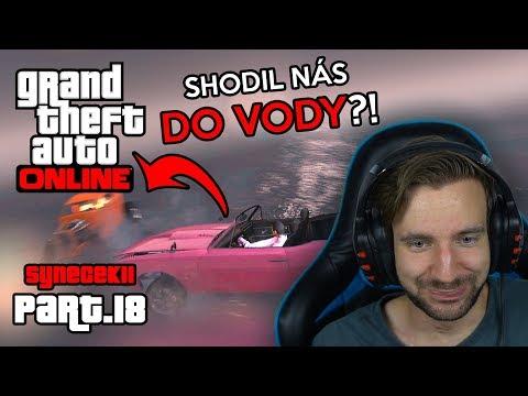 SHODIL NÁS DO VODY?! | GTA Online #18