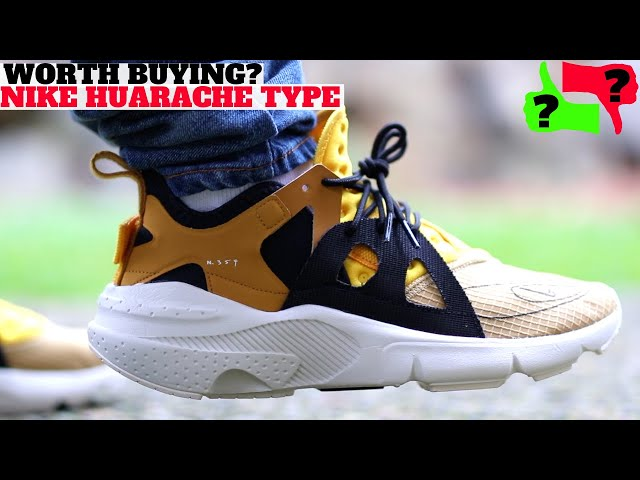 Worth Buying? $120 NIKE HUARACHE TYPE N354 Review + On Feet!
