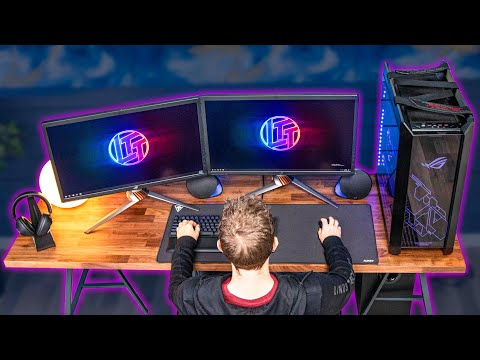 Building the ULTIMATE IKEA Gaming Setup