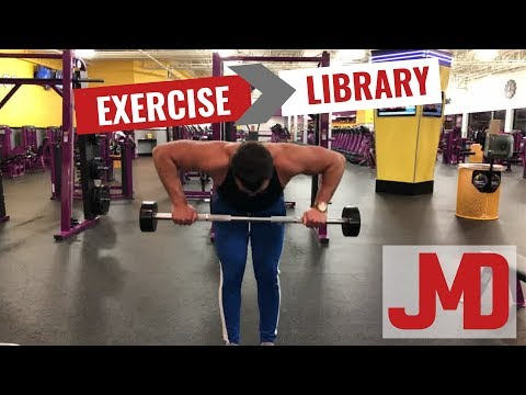 Bent Over Rear Delt Barbell Row | Exercise Library | Shoulders
