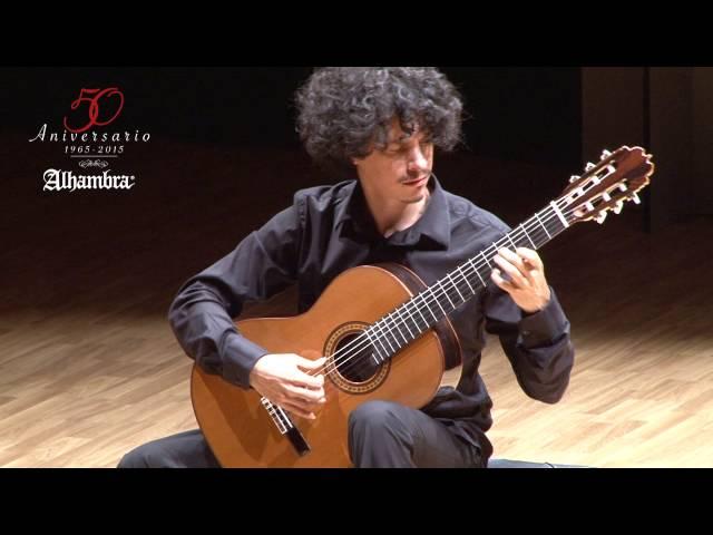 'Gran Jota' de Francisco Tárrega. Alí Arango, guitarra