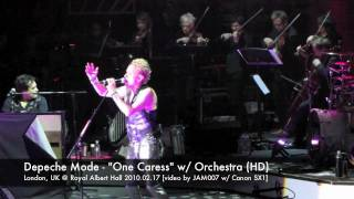 Depeche Mode - One Caress w/ orchestra, 2010.02.17 London @ Royal Albert Hall 1080 HD