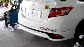 Toyota All New Vios with TRR's Header & Muffler Kit Rama III