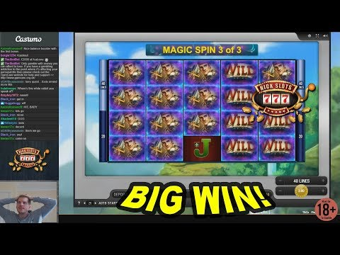 BIG WIN on Hero's Quest Slot - £3 Bet
