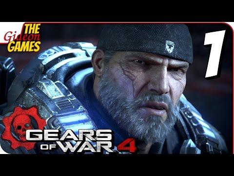 Прохождение GEARS of WAR 4 #1 ➤ СТРЕЛЯЙ, ВЗРЫВАЙ, КРОМСАЙ!