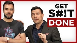 5 HACKS To Get Things Done! STOP Wasting Time w/ Thomas Frank