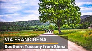 Walking to Southern Tuscany from Siena | Italy's Via Francigena | UTracks