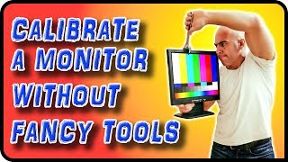How To Calibrate A Monitor Without A Colorimeter   Stock Photography Ep. 8