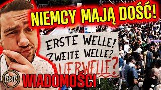 Niemcy przeciwko DYKTATURZE! Masowe PROTESTY W BERLINIE | WIADOMOŚCI