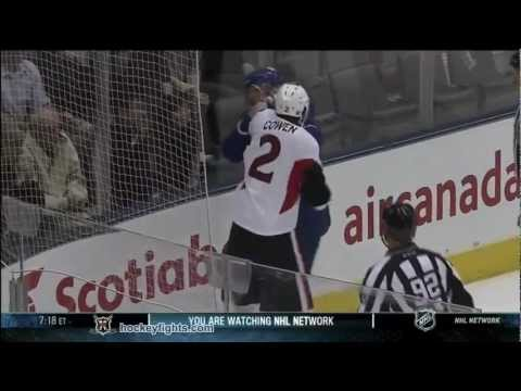 Dion Phaneuf vs. Jared Cowen