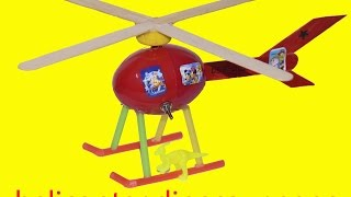 How to make a Helicopter  - Helicopter made from dinosaur eggs