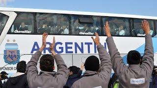 preview picture of video '14 de JUL. (Transmisión Completa) Regreso de la selección Argentina de Fútbol. Mundial 2014'