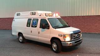 Used Ambulance For Sale - 2011 Ford E350 Type 2 Crusader Ambulance by Wheeled Coach