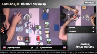 Pro Tour Magic Origins Round 7 (Standard): Bryan Gottlieb vs. Kentaro Yamamoto