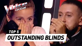 BEST Blind Auditions in The Voice Kids [PART 4]