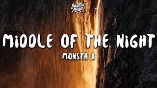 Monsta X   MIDDLE OF THE NIGHT (Lyrics)