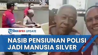 Nasib Pensiunan Polisi yang Mengemis dan Jadi Manusia Silver, Bawa Kotak Sedekah Keliling Semarang