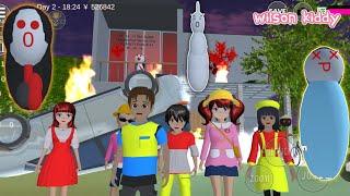Yuta Mio Ke Rumah Hantu Gara Gara Otong 😱😲 | Sakura Simulator | Game Wilson Kiddy
