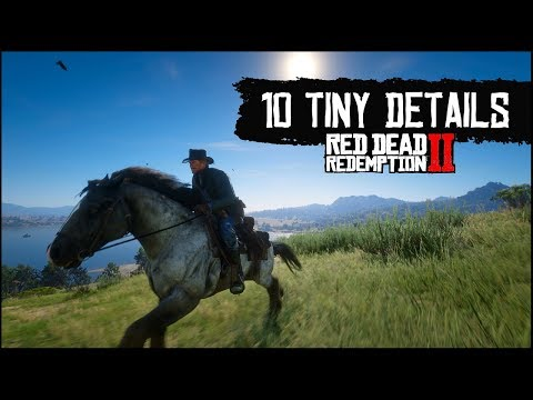 Red Dead Redemption 2 – 10 Tiny Details You May Have Missed in Red Dead 2's Wild West (Part 3)