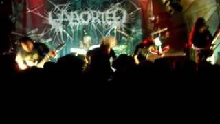 ABORTED live 2007 paris Dead Wreckoning