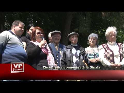 Ziua Eroilor comemorată la Sinaia