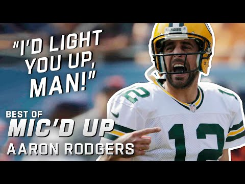 """I'd light you up, man!"" Best of Aaron Rodgers Mic'd Up!"
