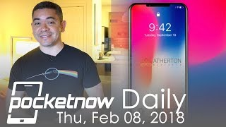 iPhone X 2018 notch design, Qualcomm 5G announcements & more - Pocketnow Daily