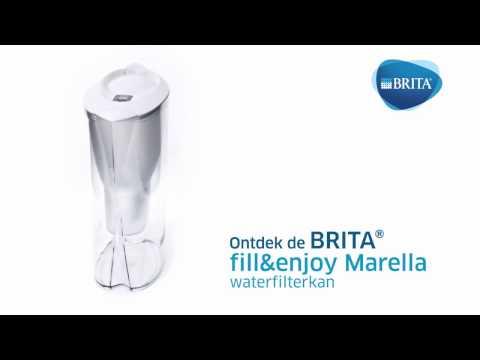 Brita Waterfilterkan Marella Cool Wit 2,4L