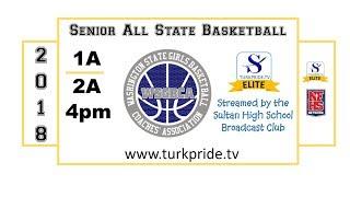 2018 1A vs 2A Senior All State Girls Basketball