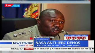 Police spokesman Charles Owino explains why anti-IEBC demos were banned
