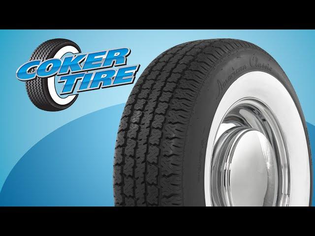 American Classic Whitewall Tires Coker American Classic