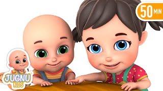 Akkad Bakkad Bambe Bo   hindi poem   Hindi rhymes for children by Jugnu Kids