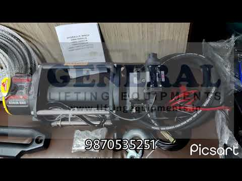 Hydraulic Winch Machine 5 Ton Capacity