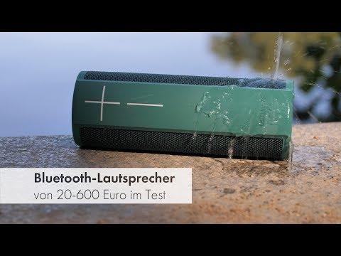Bluetooth-Lautsprecher von 20-600 Euro | Test und Vergleich 2018
