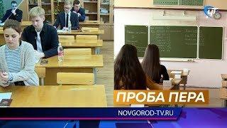 Выпускники написали пробный ЕГЭ по русскому языку