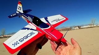 XK A430 Edge Brushless Stabilized Stunt Airplane Flight Test Review