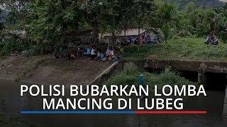Cegah Penularan Corona, Lomba Mancing di Lubeg Padang Dibubarkan Polisi