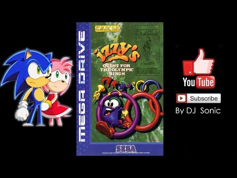 Izzy`s Quest for the Olympic Rings (Mega Drive/Genesis) - Longplay