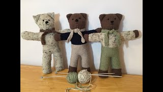HOW TO - KNIT TEDDY BEARS