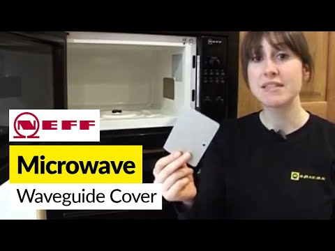 How to replace a waveguide cover on a Neff microwave