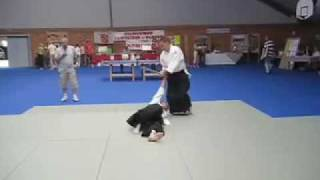 preview picture of video 'Aikido Iwama Ryu Yves à Plouer'