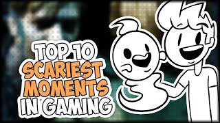 Top 10 Scariest Moments in Gaming - Just My Opinion ft. JaidenAnimations