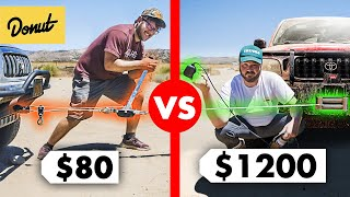$1200 Electric Winch vs. $80 Manual Come-Along
